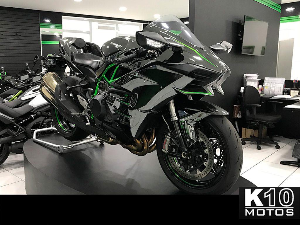 Kawasaki Ninja H2 Seminova K10 Motos São Paulo
